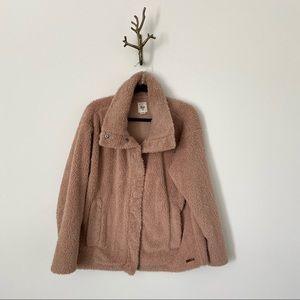 Billabong Cozy Days Fleece Sherpa Teddy Jacket